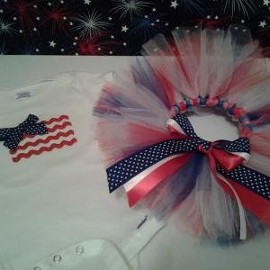 Sale! Fourth of July tutu outfit se..