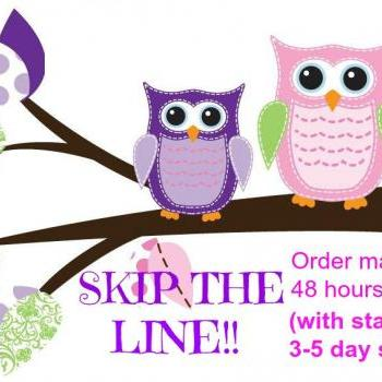 Skip the line, Ready to ship in 48 hours with standard shipping